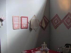 lato sinistro dello stand alla mostra di Valtopina 2011