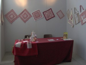 panoramica dello stand alla mostra di Valtopina 2011