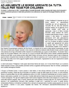 save for children vicenza.com articolo